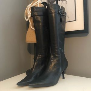 Nine West leather boots. Size 6.5. New condition